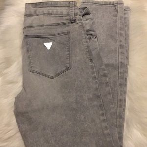 Guess Medium Rise Ankle Skinny Jeans